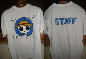 T-shirt: ONE PIECE - Commission by Samy-Consu