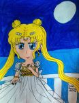 Princess Serenity of the Moon by Sweet-Sharotto