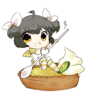 Gift: Lemon Cheesecake Tart by niekaori
