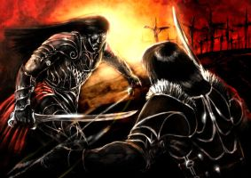 Nimander vs Clip by slaine69