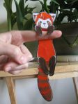 .:Pabu Love:. Paperchibi by Aqua-Frost