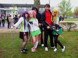 Highschool of the Dead by HeroinHypnosis