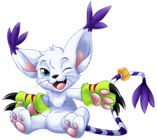 Gatomon by BritishStarr