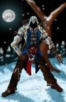 Connor Kenway by iamtheNoNamer