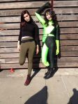 Shego and Kim I by VaguePurple