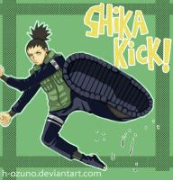 THE Shika Kick by h-ozuno