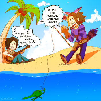 Froggy!!! | GameGrumps by Spencer-Bowen
