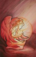 angel of the spirit flame by Celeste23forever