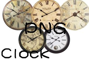 Png's Clock by x-mo12