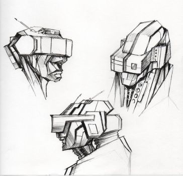 Head gear concepts by kurteinhaus