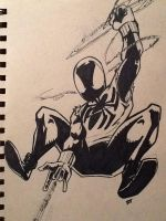 Scarlet Spider by Vauz