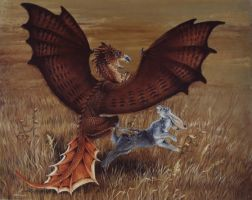 Redtail Dragon by Hbruton