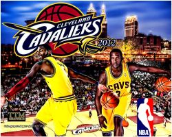 Cleveland Calaliers by tmarried