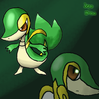 Snivy 2 by Jero-Draw