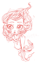 little chibi doodle by LilithIrina