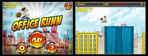 Office Runn Ipad Game Art. by sudhirsgosavi