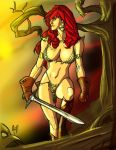 Red Sonja colours by harley00