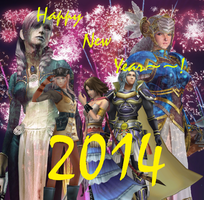 Happy New Year! by DressphereMasterYuna