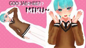 WIP To the Beautiful Vocaloid ? Miku/Gu Jae Hee by anianianiyeo