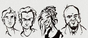 L4D2 Face Model Caricatures by SonyaDora