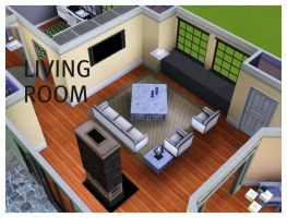 House 2 Living by arymay2013