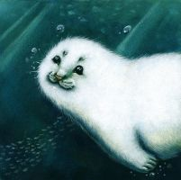 Baby , baby, baby Seal! by SophieLeta
