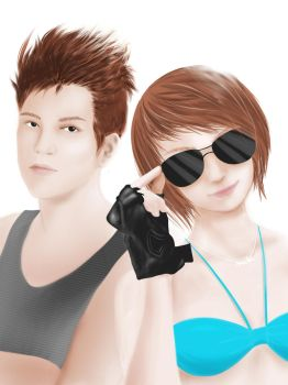 me and my bf by xiaochi