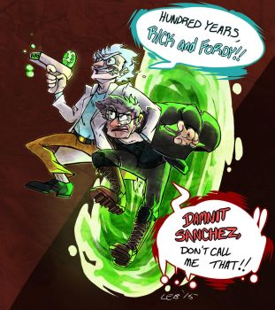 Hundred Years Rick And Fordy by Puppy-Chow