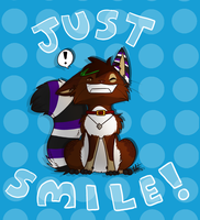 Just Smile! .:Speedpaint:. by Poppyshadow
