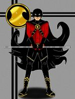 Red Robin by Flash-of-Lingt