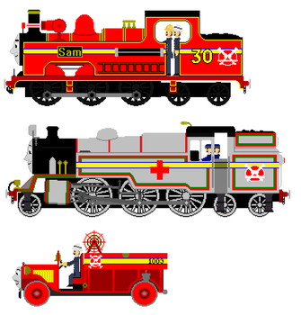 Preview to Fire Engine Sam Episode 8 by JamesFan1991