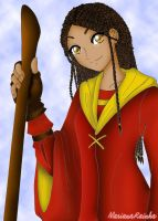 Quidditch Goddess by MariRainha