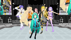 MMD Poses by GalaxyGuild