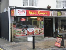 Mac Doner by JimmyCartoonist