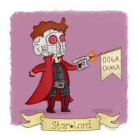 Starlord by Miffmelon