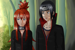 Practice ~ Forest: Kasumi and Itachi by Misfitts
