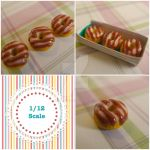 1/12 scale double glazed doughnut by LittlestSweetShop