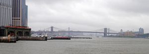 View of NY, Staten Island ferry 04 by LucieG-Stock