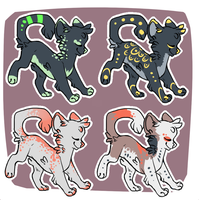 Cat Adopts [Set 1] {closed} by Eeyrie