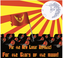 New Lunar Republic Propaganda by Atta-CrossRoads