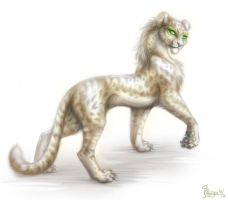 Pretty cheetah by OmegaLioness