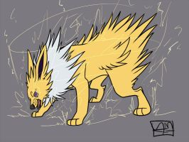 Jolteon by HeavenlyCondemned