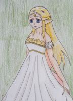 Moon Princess Zelda by Punisher2006
