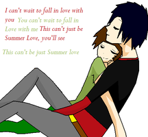 Ulrich and William Summer love by Toko-4-ever
