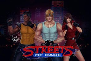 Streets of Rage  by ceriselightning