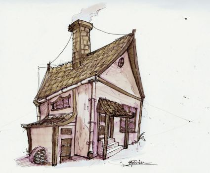 Sketch: House by insp88