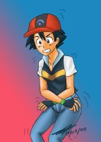 Pokemon ash Tg by Rezuban