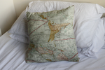 Map of World pillowcase by Pasywna