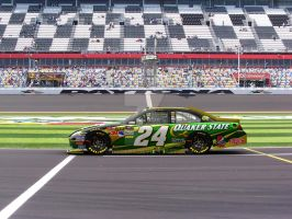 Jeff Gordon Quaker State by Driggers