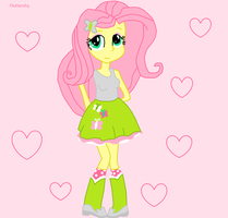 Fluttershy - Equestria Girls by UmbreonDelilah
